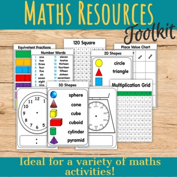 Back to School Math Resources Toolkit