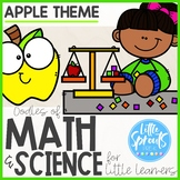 ⇨ FLASH DEAL! ⇦ Math Resources for Little Learners ● Apple Theme