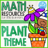 Math Resources for Little Learners ● Plant Theme