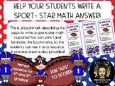 Math Response Bookmark!