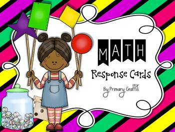 Math Response Cards
