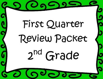 Math Review 1st Quarter