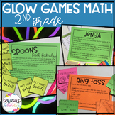 Math Review 2nd Grade - Glow Day