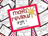 Math Review... 4th Quarter Assessments Grade 1