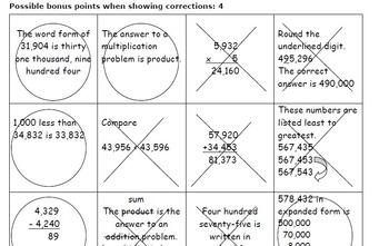 Math Review 5