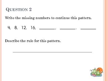 Math Review #9 - 20 Questions