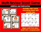 Math Review Addition and Subtraction SCOOT game