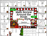 Math Review Around the Room Holiday Style: Second Grade Common Core