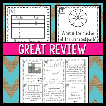 Math Review Board Game Project by Teacher Trap | TpT