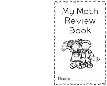 Math Review Book 2nd Grade