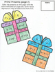 Christmas Math Review Coloring Pages TEKS 6.7A, 6.7B, 6.10A