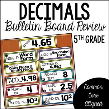 Decimal Review (Bulletin Board)