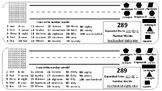 Math Review Desk Nametag Bundle of 3
