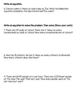 Math Review: Equations & Problem Solving