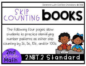 NO PREP! 2nd Grade Math Cut & Paste Books