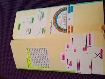 Math Review Foldable Fourth Grade Practice STAAR TEKS Prac