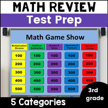 Math Review Game- 3rd Grade