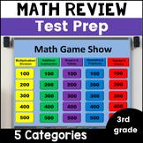 Math Review Game 3rd Grade Test Prep