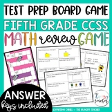 Math Review Game {5th Grade Common Core Aligned}