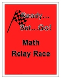 Math Review Game - Relay Fun