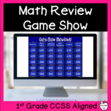 Math Review Game Show ~ 1st Grade ~ End of the Year
