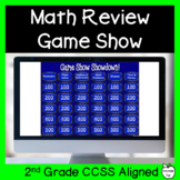 Math Review Game Show ~ 2nd Grade ~ End of the Year