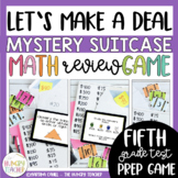 Math Review Game Show ~ Let's Make a Deal {5th Grade Commo