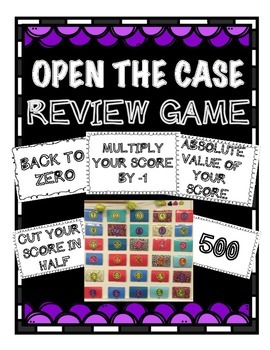 Math Review Game- Universal Game for Any Topic