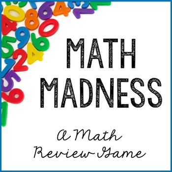Math Review Game for 5th Graders {Math Madness}
