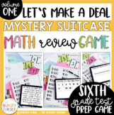 Math Review Game for 6th Grade Common Core {Let's Make a Deal}