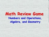 Math Review Game for Algebra, Geometry, and Numbers & Operations