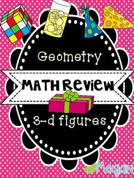 Math Review: Geometry 3D Figures
