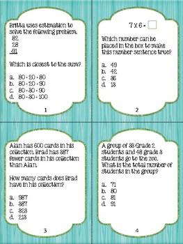 Math Review - Grade 3 (BUNDLED UNIT)