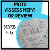 Math Review for After Spring Break - Grades 4-6