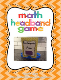 Math Review Headband Game