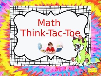Math Review Homework Weekly