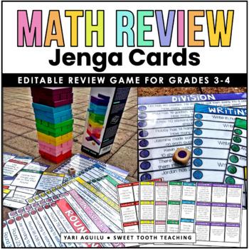 Math Review Jenga Game