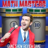 Math Review Game - State Testing or End of the Year Review