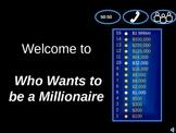 Math Review Millionaire