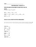 Math Review Missing Addends, Word Problems, Skip Counting