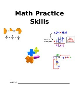 Math Review Mixup-Great for the beginning or the end of the year!