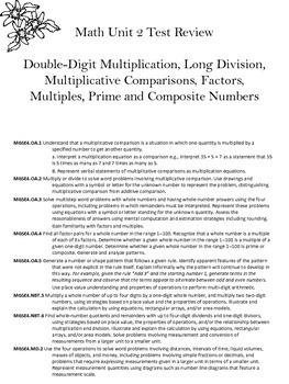 Math Review: Multiplication, Long Division, AND MORE!