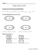 Math Review - Numbers 100-120, Place Value, Double Digits