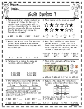 Math Review One