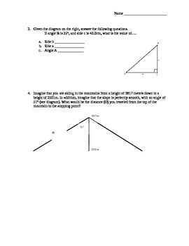 Physics - Math Review Packet