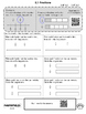 Math Review Packet - 3rd Grade - with QR Codes! NO PREP! Common Core Aligned