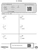 Math Review Packet - 7th Grade - with QR Codes! NO PREP!