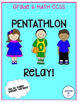 Math Review Pentathlon Relay