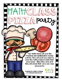 Math Review Pizza Party: Review Fractions and Multiplicati