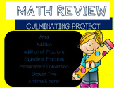 End of the Year Math Review Project